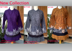 Blouse batik modern for fashion