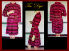 Tie Dye feminine Dress clothes