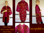 Red blouse batik modern for your fashion