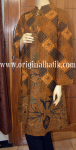 Model dress batik motif klasik
