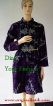 Dress Batik Megamendung Ungu