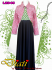 long dress batik combination